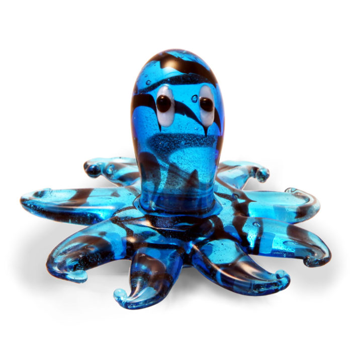 Large Glass Octopus