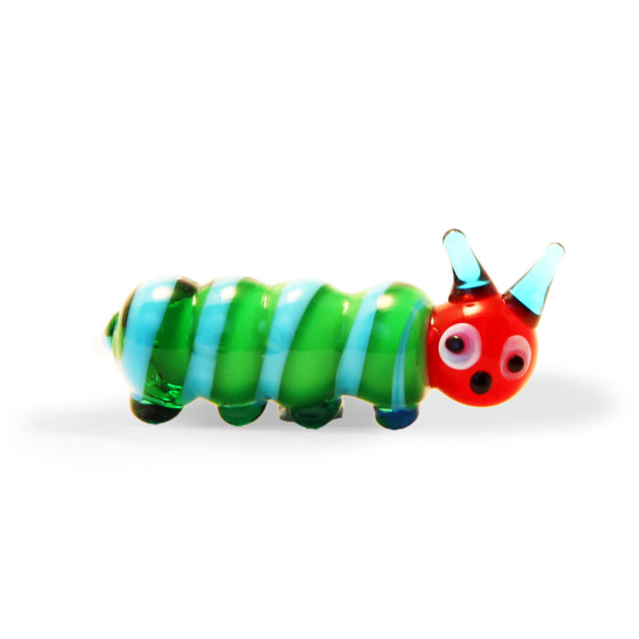 Small Glass Very Hungry Caterpillar