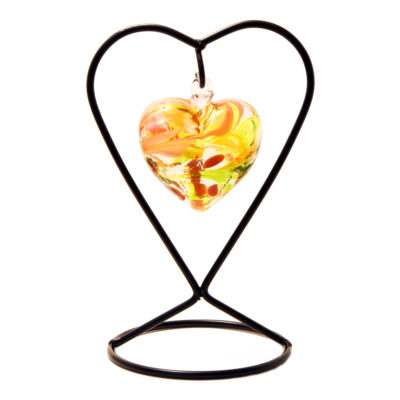 The November Birthstone Glass Heart