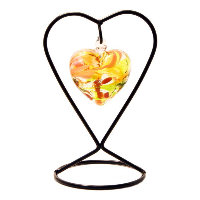The November Birthstone Glass Heart