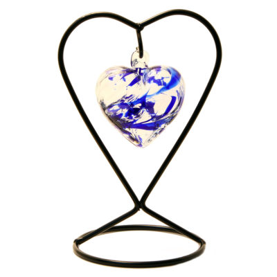 The September Birthstone Glass Heart