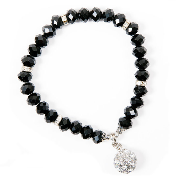 Crystal Bracelet Black