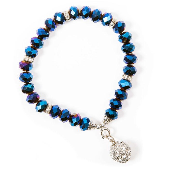 Crystal Bracelet Blue